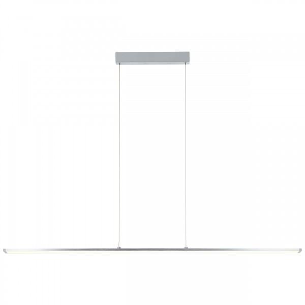 Brilliant G97028/21 Entrance Pendelleuchte Paneel 120cm Metall/Kunststoff alu/wei?