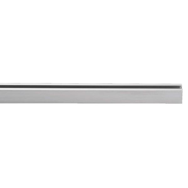 M6 Licht / HV-Track4 24640 Stromschiene - Hochvolt nickel matt