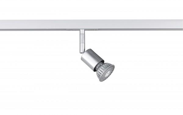M6 Licht / HV-Track6 70331 Spotkopf ohne Glas, 1x GU10 max.10W silberfarben
