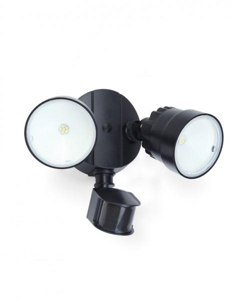 ECO-LIGHT P6221A-PIR23-5K BL LED-Außenwandleuchte SHRIMP mit Bewegungsmelder
