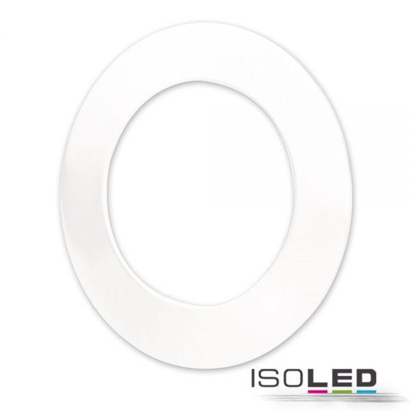 Isoled 113336 Cover Aluminium rund weiß für Einbaustrahler Sys-90