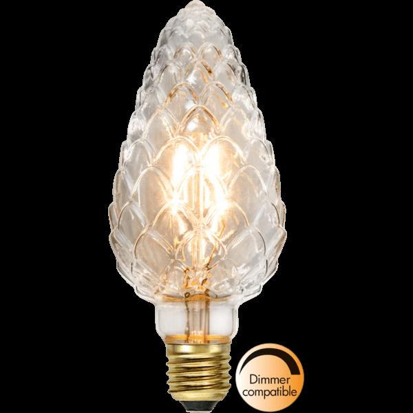 "Best Season 353-65-1 - Decoration LED ""Decoled"", Zapfen, E27, 2200K, A+, dimmbar"