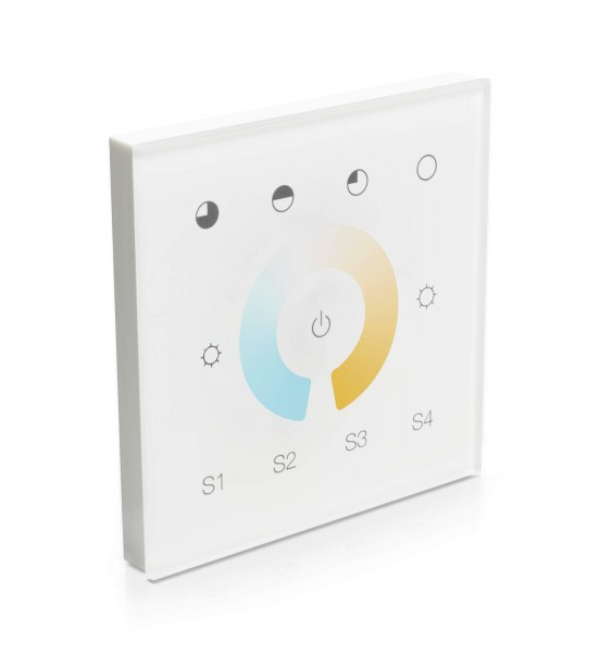 Smart Home Unterputzsteuerung Touchpanel CCT