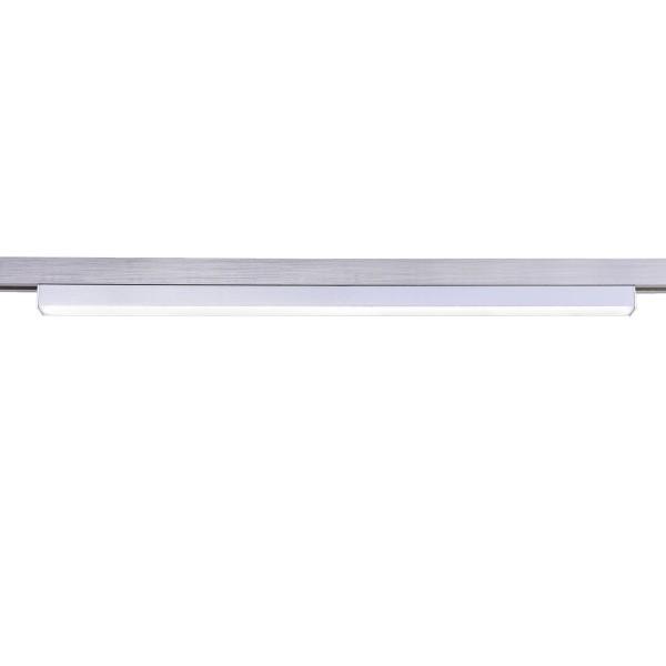 Fischer & Honsel M6 Licht / HV-Track4 70021 Hochvolt- LED Schiene 1-flg. 6W, 700lm nickel matt, L.50