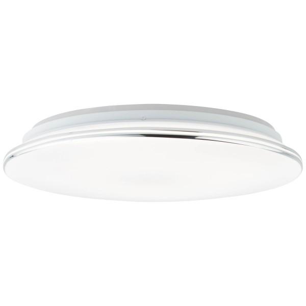 Brilliant G97045/15 Edna Deckenleuchte 40cm Kunststoff/Metall weiß/chrom