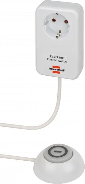 Eco Line Comfort Switch Adapter / Steckdose mit beleuchtetem Fußschalter (Verlängerungskabel mit Sch