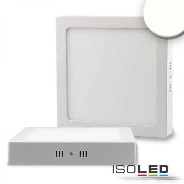 ISOLED 112369 LED Deckenleuchte weiß, 18W, quadratisch, 220x220mm, neutralweiß