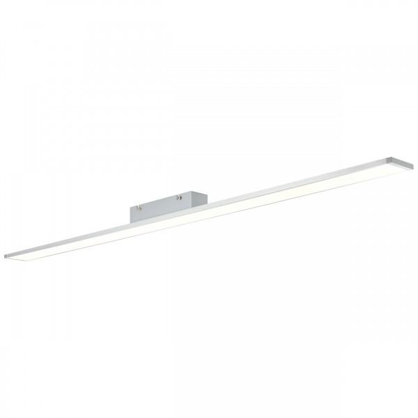 Brilliant G97026/21 Entrance Deckenaufbau-Paneel 120x7cm Metall/Kunststoff alu/wei?