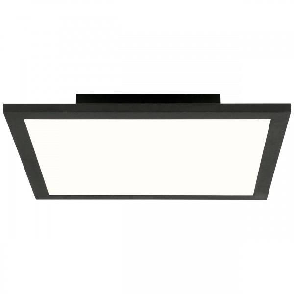 Brilliant G90355A26 Buffi Deckenaufbau-Paneel 30x30cm Metall/Kunststoff sand schwarz