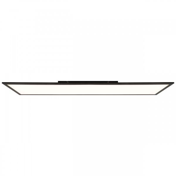Brilliant G90320/76 Abie Deckenaufbau-Paneel 120x30cm RGB Metall/Kunststoff sand schwarz