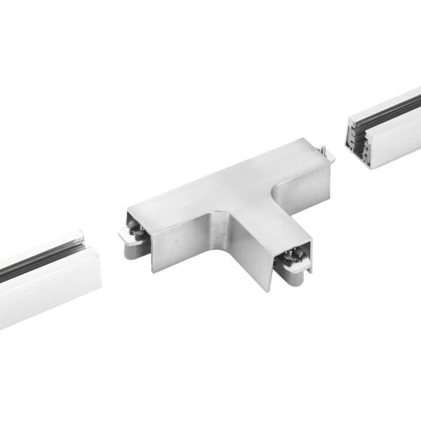 M6 Licht / HV-Track4 24600 Stromschienen - Verbinder nickel matt