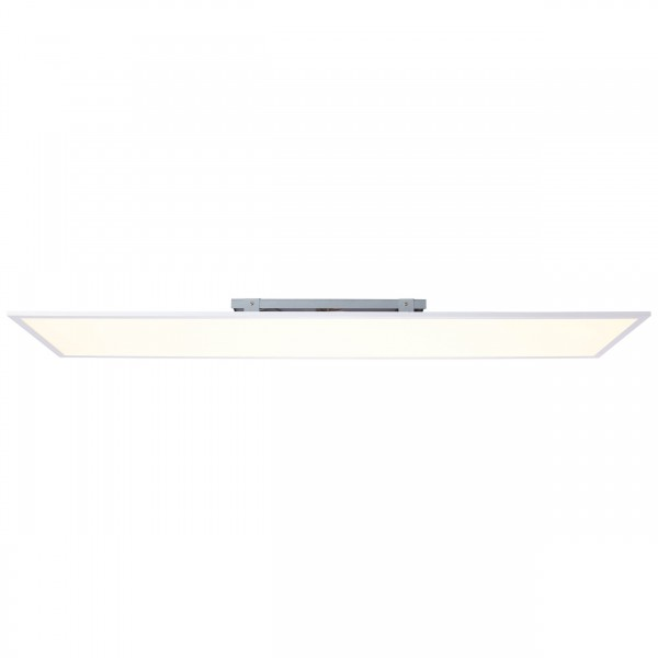 Brilliant G90354/05 Charla Deckenaufbau-Paneel 120x30cm Metall/Kunststoff weiß/warmweiß