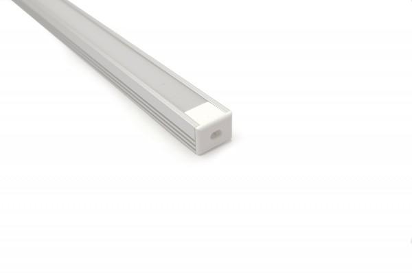 Aluminium U Profil 1m Länge 17 x 14mm