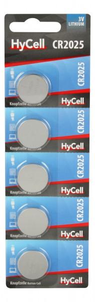 Ansmann HyCell Lithium Knopfzellen CR2025