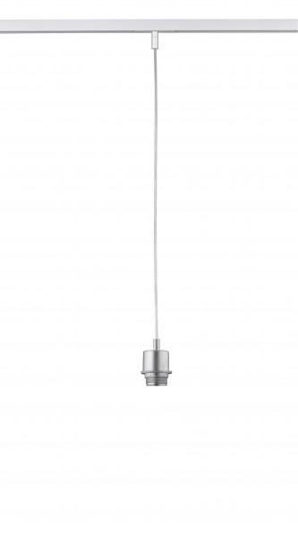 Fischer & Honsel M6 Licht / HV-Track6 70321 Pendelleuchte ohne Glas, 1x E27 max.40W silberfarben