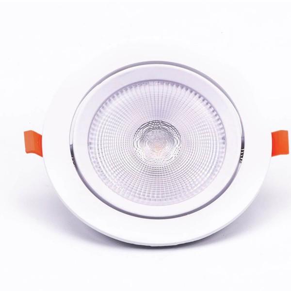 """V-TAC LED Einbauleuchte """"VT-2-20"""" COB Downlight 20W 3000K"""
