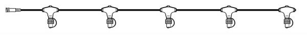 "Best Season 490-10 System 24 ""LED-Main Stem Cabel 15 m-Extra"","
