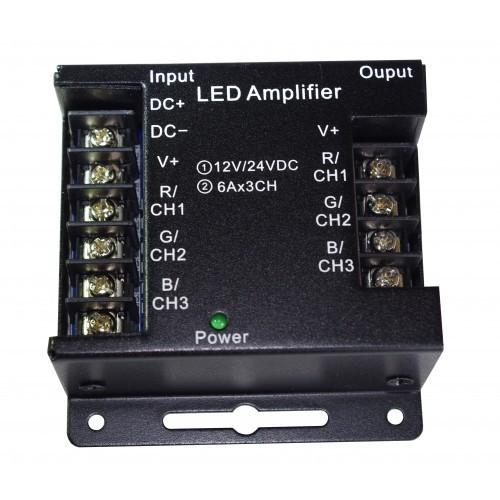 Amplifier/Verstärker für RGB LED Streifen