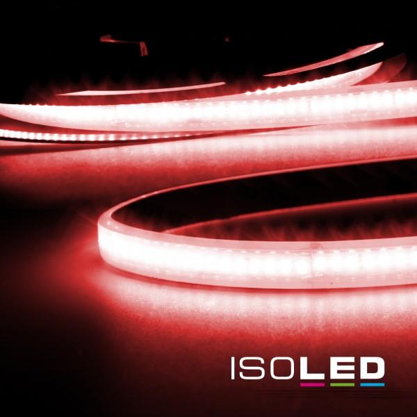 ISOLED 114238 LED CRI9R Linear 48V-Flexband, 8W, IP68, rot, 30 Meter