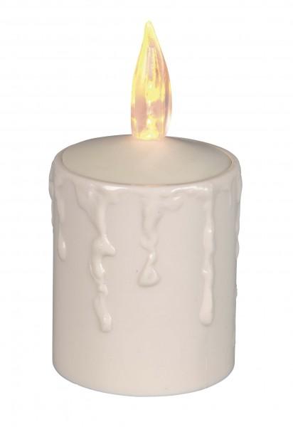 "Star Trading 066-20 LED-Kerze mit Licht-Sensor ""Paula"", flackernd"