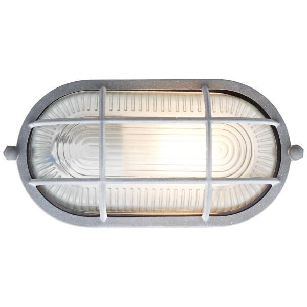 Brilliant 94458/70 Bobbi Wand- und Deckenleuchte 21cm Metall/Glas grau Beton