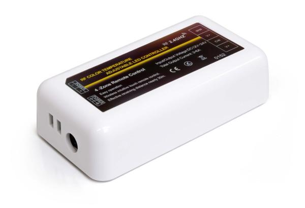 LED Universum 4 Zonen Funkcontroller für CCT 2in1 Streifen