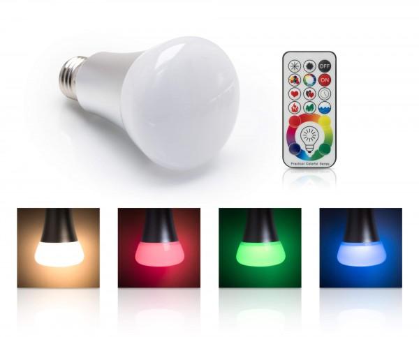 LED Universum RGBW LED Bulb 10W E27 dimmbar