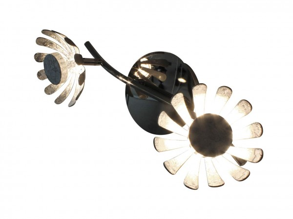 ECO-LIGHT 9022-2 SI LED-Deckenleuchte BLOOM 2-flammig