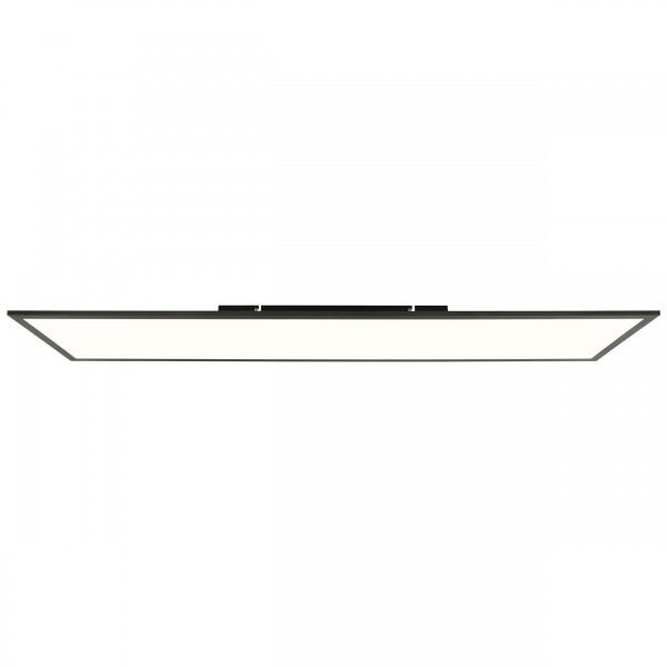 Brilliant G90359A26 Buffi Deckenaufbau-Paneel 120x30cm Metall/Kunststoff sand schwarz