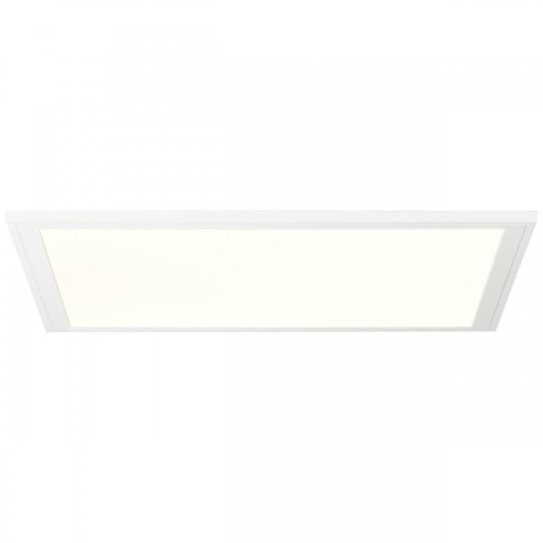 Brilliant G90318/05 Abie Deckenaufbau-Paneel 40x40cm RGB Metall/Kunststoff weiß