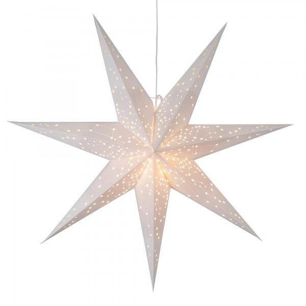 "Papierstern ""Galaxy"", ca. 100 cm Ø, weiss"