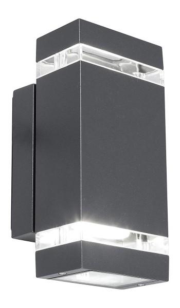 ECO-LIGHT 6050 GR LED Außenwandleuchte FOCUS
