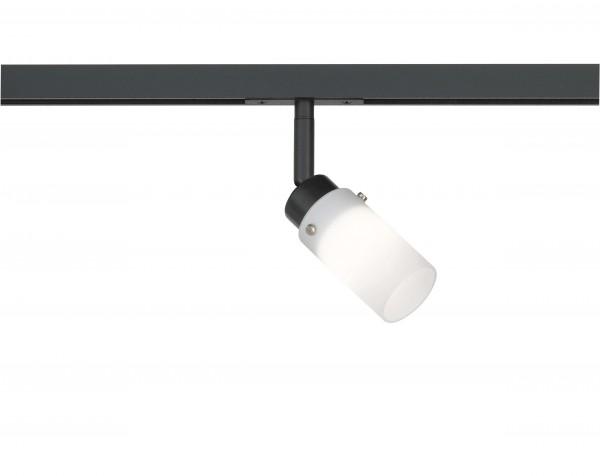M6 Licht / HV-Track6 70338 Spotkopf 1x G9 max.25W sandschwarz, Glas opal
