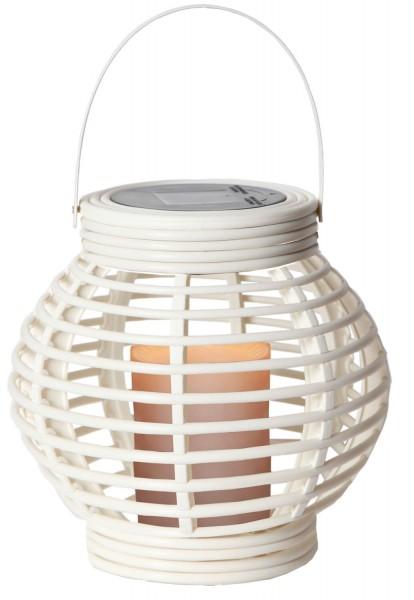 """Star Trading 479-28 LED-Solar-Laterne """"Lantern"""", weiß, ca. 16x16 cm"""