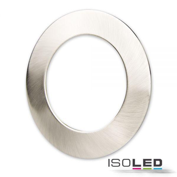 Cover Aluminium rund chrom matt für Einbaustrahler Sys-90
