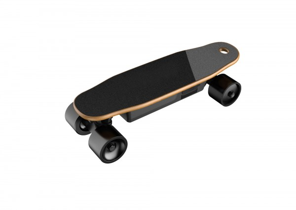 Mini Elektro Skateboard – Holz Bambus