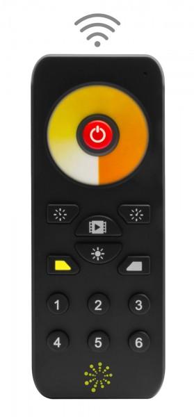 6 Zonen Funkfernbedienung für CCT LED Streifen