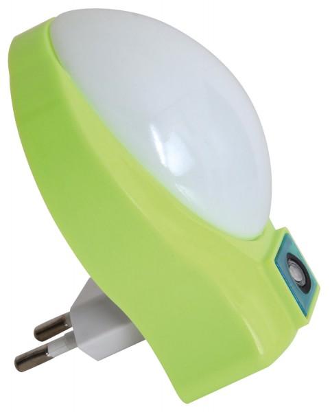 Näve Leuchten 5166117 Nachlicht grün mit Dämmerungssensor