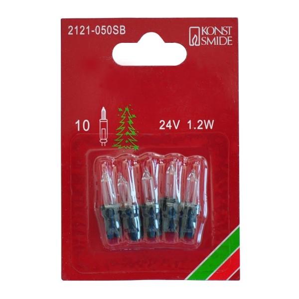 Konstsmide 2121-050SB | Ersatzbirne Minilichterkette Innen | grün | 24V 1,2W