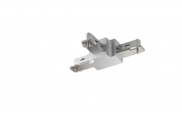 M6 Licht / HV-Track6 70306 Stromschienen - Verbinder silberfarben