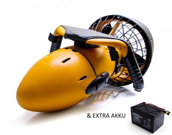 Stark-Tech SeaScooter Unterwasser Tauchscooter Propeller Antrieb MIT ZUSATZ AKKU