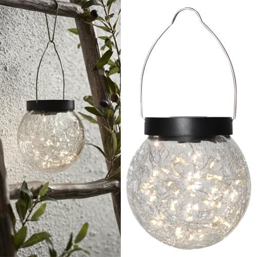 """Star Trading 480-41 LED-Solar-Kugel """"Glory"""", 30 warmwhite LED"""