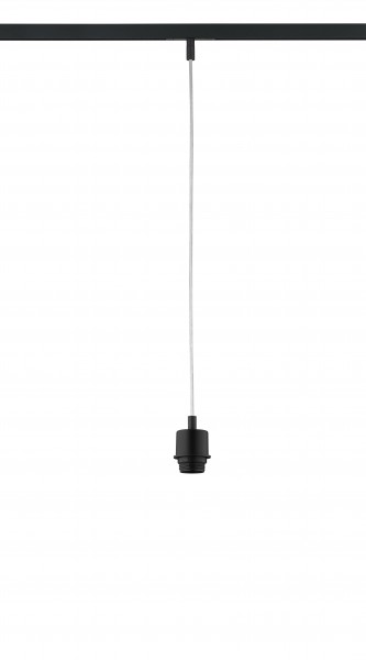 M6 Licht / HV-Track6 70322 Pendelleuchte ohne Glas, 1x E27 max.40W sandschwarz