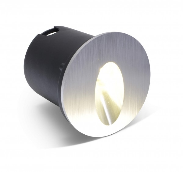 LED Einbaustrahler Lohmen warmweiß rund - 1*3W