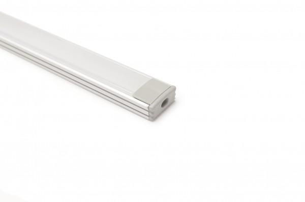 Aluminium U Profil 1m Länge 17,5 x 7mm