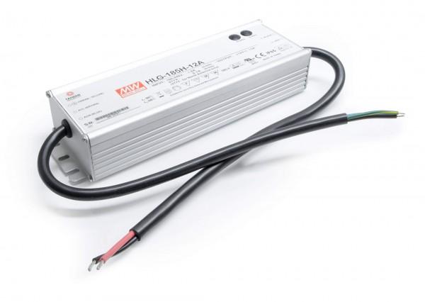 Mean Well HLG-185H-12A Installationsnetzteil 12C DC - Vo/Io Einstellbar