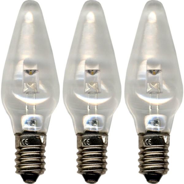 Star Trading 300-01 Universal Ersatzleuchtmittel LED, E10, 2100 K