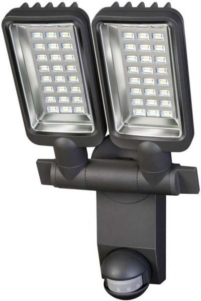 Brennenstuhl LED-Strahler Duo Premium City mit Bewegungssensor IP44 31W 2160lm A anthrazit