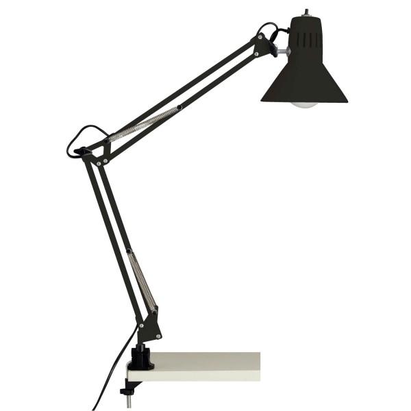 10802/06 Hobby Schreibtischklemmleuchte Metall schwarz