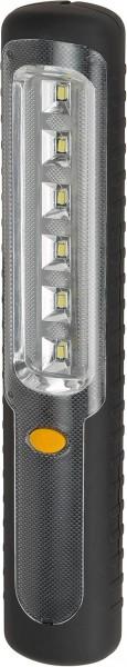 LED Akku Handleuchte Dynamo mit 6 LEDs